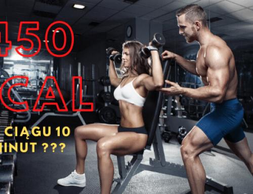 Trening, który spala nawet 450 kcal w ciągu 10 minut?