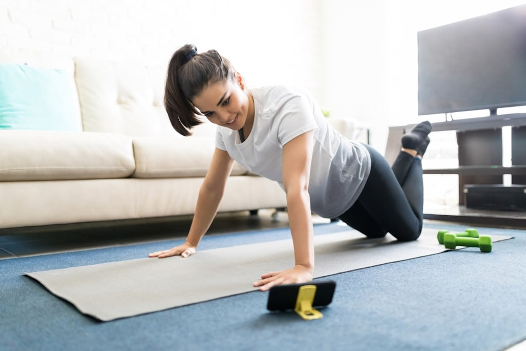 trening w domu