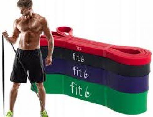 Trening dla mężczyzn w domu z wykorzystaniem gum