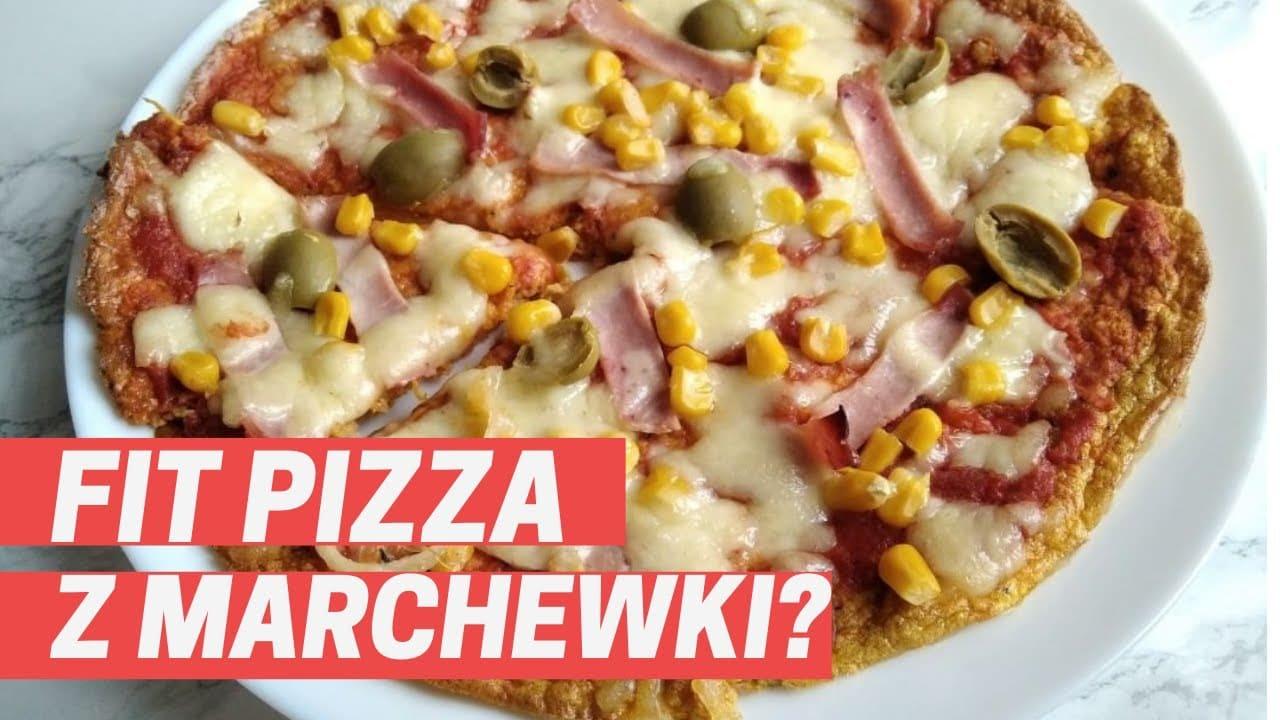 pizza z marchewki